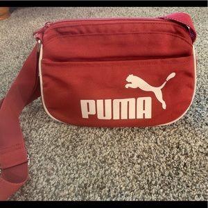 Maroon Puma purse